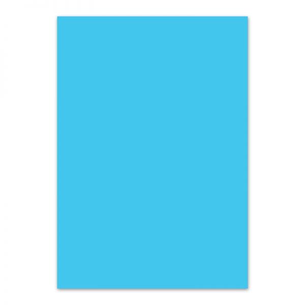 Fotokarton hemelblauw