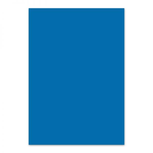Fotokarton middelblauw
