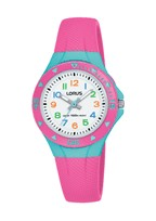 R2351MX9 YOUNG ANALOOG PINK WHITE DIAL 100M WR