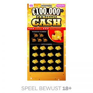 Kraslot 24 Karaat Cash