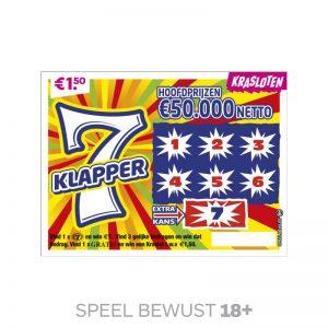 Kraslot 7 Klapper
