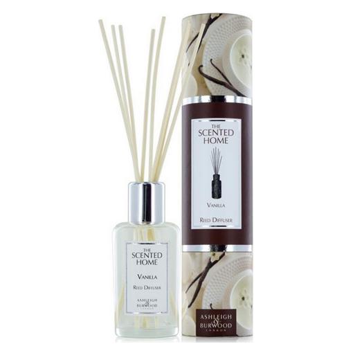 Ashleigh burwood reed diffuser 150 ml vanilla geurstokjes www geurlampenwebshop nl